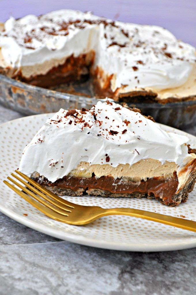 Gluten Free Vegan Chocolate Peanut Butter Banana Pie – Edward & Sons ...